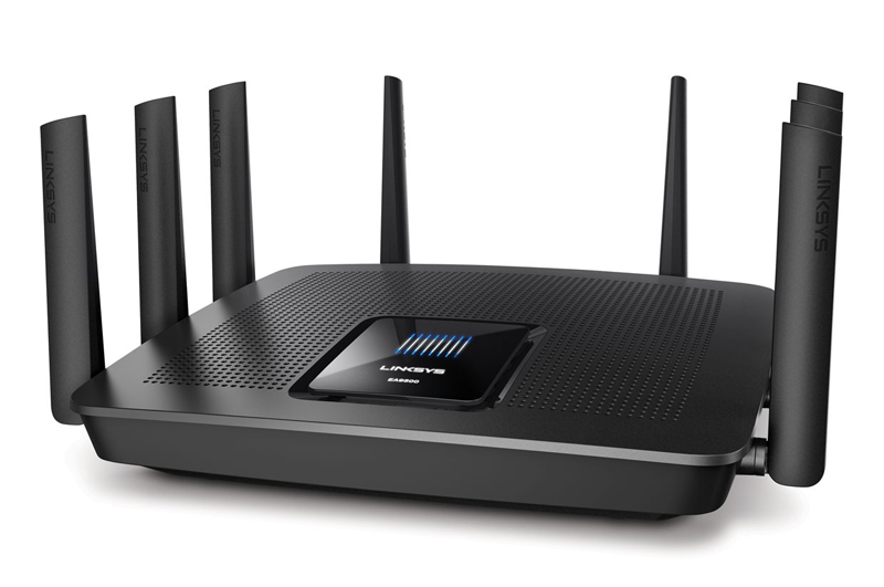thiết bị router cao cấp của Linksys